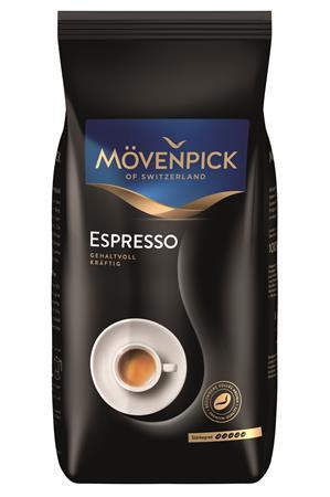 "MÖVENPICK Kávé, pörkölt, szemes, 1000 g,  MÖVENPICK ""Espresso"""
