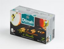 DILMAH Fekete tea, 20x1,5g, DILMAH, alma-fahéj-vanília