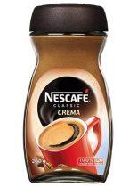 "NESCAFE Instant kávé, 200 g, üveges, NESCAFÉ ""Classic Crema"""