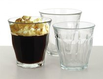 """Kávéspohár, üveg, 6db-os szett, 22cl, """"Retro"""""""