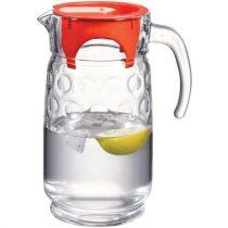 Üvegkancsó fedővel, üveg, 1,5l