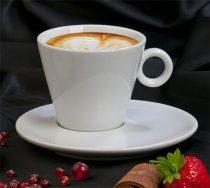 """Kávéscsésze+alj, fehér, 22cl, 2db-os szett, """"CoffeeTime"""""""