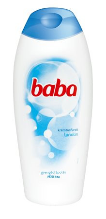 BABA Tusfürdő, 400 ml, BABA, lanolinos