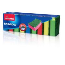 """VILEDA Mosogatószivacs, 9 db, VILEDA """"Rainbow"""""""