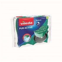 "VILEDA Mosogatószivacs, 2 db,  VILEDA ""Pur Active"""