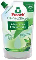 FROSCH Folyékony szappan utántöltő, 0,5 l, FROSCH, aloe vera