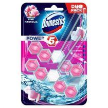 "DOMESTOS WC fertőtlenítő, 2x55 g, DOMESTOS ""Power 5"", pink magnólia"