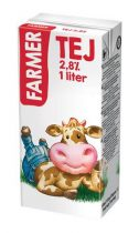 Tartós tej, dobozos, 2,8%, 1 l, FARMER