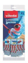 "VILEDA Gyorsfelmosó fej, mikroszálas, VILEDA ""Supermocio  3Action"", kék"