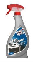 WELL DONE Inox tisztítószer, 0,75 l, szórófejes,  WELL DONE