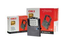 OKI 09002303 Festékszalag ML 182, 183, 192 nyomtatókhoz, OKI, fekete