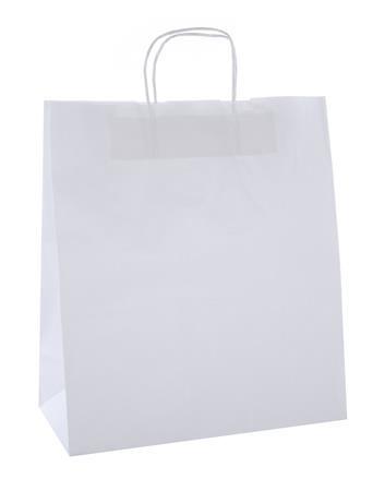 APLI Ajándéktasak, 24x11x31 cm, APLI, fehér
