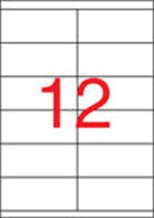 APLI Etikett, univerzális, 105x48 mm, APLI, 6000 etikett/csomag