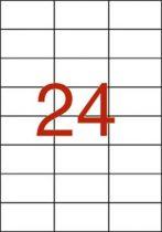 APLI Etikett, univerzális, 70x37 mm, APLI, 240 etikett/csomag