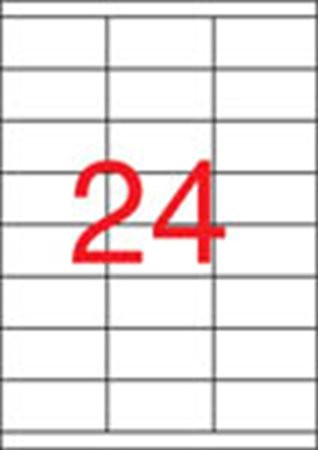 APLI Etikett, univerzális, 70x33,8 mm, APLI, 2400 etikett/csomag