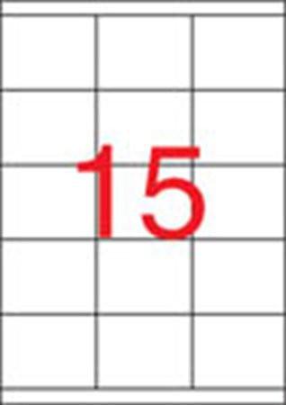 APLI Etikett, univerzális, 70x50,8 mm, APLI, 1500 etikett/csomag