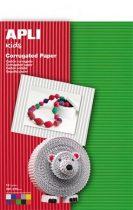APLI Hullámkarton papír, 297x210 mm, 10 ív, APLI, vegyes színek