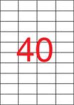 APLI Etikett, univerzális, 52,5x29,7 mm, APLI, 20000 etikett/csomag