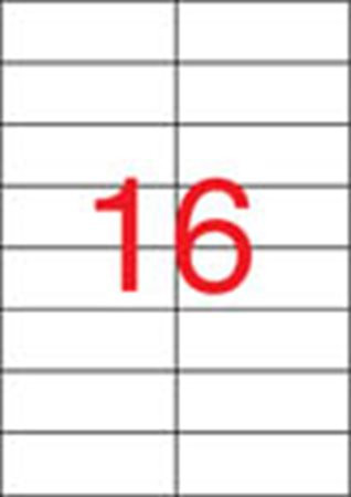 APLI Etikett, univerzális, 105x37 mm, APLI, 8000 etikett/csomag