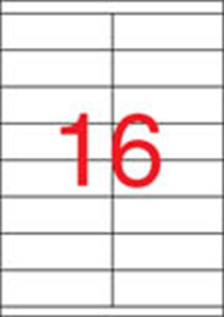 APLI Etikett, univerzális, 105x35 mm, APLI, 8000 etikett/csomag