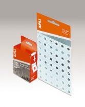 APLI Lyukerősítő gyűrű, 13 mm átmérő, APLI, átlátszó