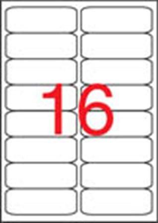 APLI Etikett, univerzális, 99,1x34 mm, kerekített sarkú, APLI, 1600 etikett/csomag