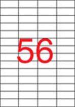 APLI Etikett, lézernyomtatókhoz, 52,5x21,2 mm, APLI, 14000 etikett/csomag