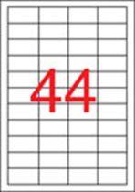 APLI Etikett, univerzális, 48,5x25,4 mm, APLI, 4400 etikett/csomag