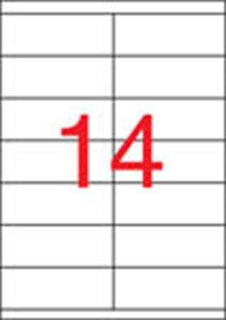 APLI Etikett, univerzális, 105x40 mm, APLI, 1400 etikett/csomag