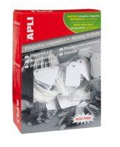 APLI Árazócímke, 22x35 mm, APLI, fehér