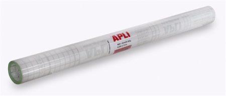 APLI Könyvborító, áttetsző, tekercses, 3x0,5 m, APLI
