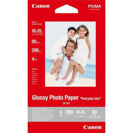 CANON GP-501 Fotópapír, tintasugaras, 10x15 cm, 200 g, fényes, CANON