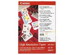 CANON HR-101 Fotópapír, tintasugaras, A4, 106 g, matt, nagyfelbontású, 50 lapos CANON