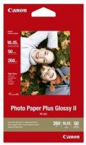 CANON PP-201 Fotópapír, tintasugaras, 10x15 cm, 260 g, extra fényes, CANON