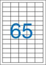 VICTORIA Etikett, univerzális, 38x21,2 mm, VICTORIA, 6500 etikett/csomag