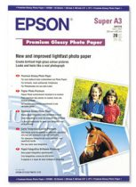 EPSON S041316 Fotópapír, tintasugaras,  A3+, 255 g, fényes, EPSON