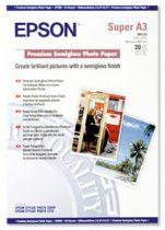 EPSON S041328 Fotópapír, tintasugaras, A3+, 251 g, félfényes, EPSON