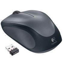 """LOGITECH Egér, vezeték nélküli, optikai, USB, LOGITECH """"M235"""", szürke"""