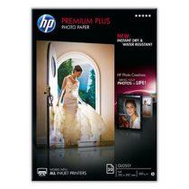 HP CR672A Fotópapír, tintasugaras, A4, 300 g, fényes, HP