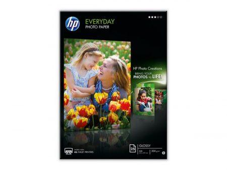 HP Q5451A Fotópapír, tintasugaras, A4, 200 g, fényes, HP