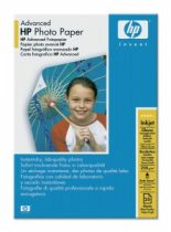 HP Q8691A Fotópapír, tintasugaras, 10x15, 250 g, fényes, HP
