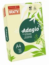 """REY Másolópapír, színes, A4, 160 g, REY """"Adagio"""", pasztell sárga"""
