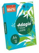"""REY Másolópapír, színes, A4, 80 g, REY """"Adagio"""", intenzív kék"""