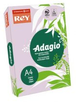 """REY Másolópapír, színes, A4, 80 g, REY """"Adagio"""", intenzív lila"""