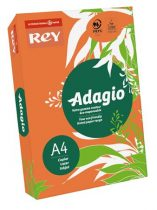 """REY Másolópapír, színes, A4, 80 g, REY """"Adagio"""", intenzív narancssárga"""