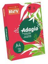 """REY Másolópapír, színes, A4, 80 g, REY """"Adagio"""", intenzív piros"""