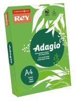 """REY Másolópapír, színes, A4, 80 g, REY """"Adagio"""", intenzív zöld"""