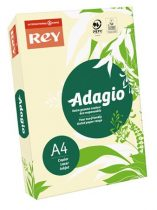 """REY Másolópapír, színes, A4, 80 g, REY """"Adagio"""", pasztell csontszín"""