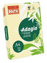 """REY Másolópapír, színes, A4, 80 g, REY """"Adagio"""", pasztell sárga"""