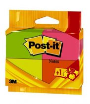 "3M POSTIT Öntapadó jegyzettömb, 38x51 mm, 4x100 lap, 3M POSTIT, ""Neon"""